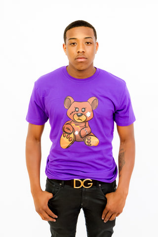Purple Teddy Tee