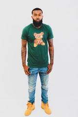 Green Teddy Tee