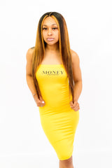 Yellow MM Tube Dress
