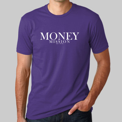 Purple MM Signature Tee
