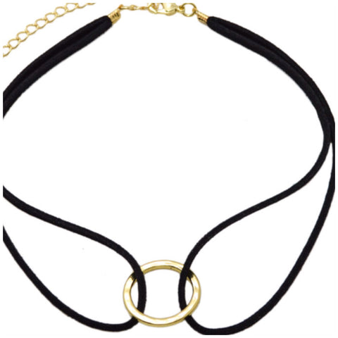Double Gold Plated Choker