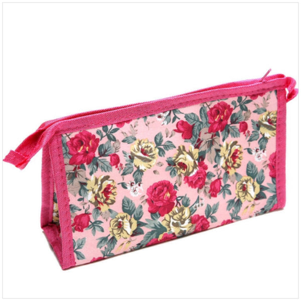 Satin Accessory Cosmetic Bag