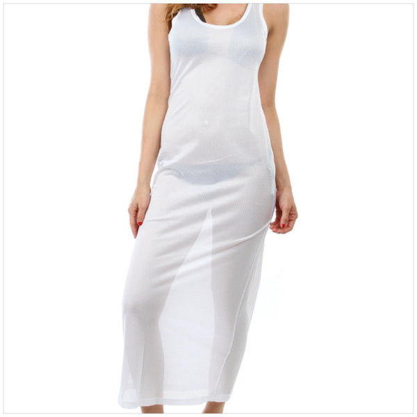 White Cover-Up Maxi