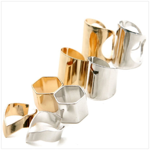 Gold/Silver Assorted Rings