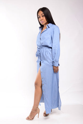 Denim Love Maxi