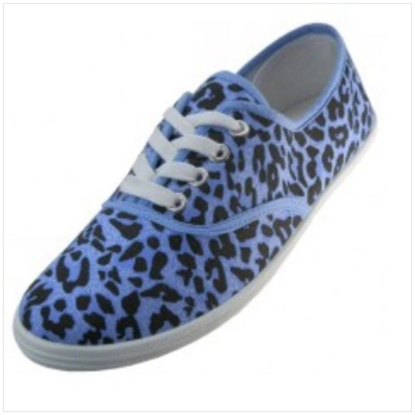 Blue leopard Sneakers