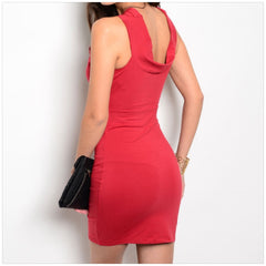 Wine Bodycon