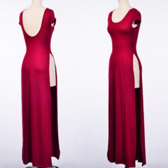 Burgundy Bliss Maxi Tee