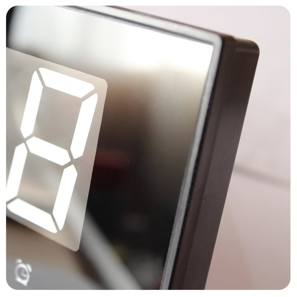 Digital Wall Clock - 36 X 15 White LED Buro - Ecart