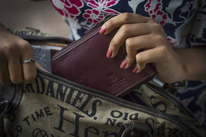 Women's Wallets - available in Black, Blue and Maroon colour