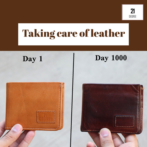 This is how to make leather products last long. Efficient leather care methods
