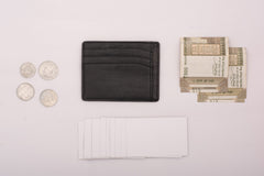 Everything a 9 pocket card holder can hold