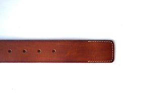 Men's Casual Pure Leather Belt - Show Stitch