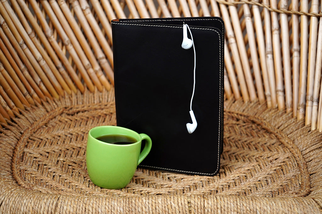 Black Kindle Cover or Sales Kit