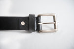 Load image into Gallery viewer, Men's Black Formal Pure Leather Belt