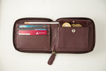 Load image into Gallery viewer, Women's maroon wallet