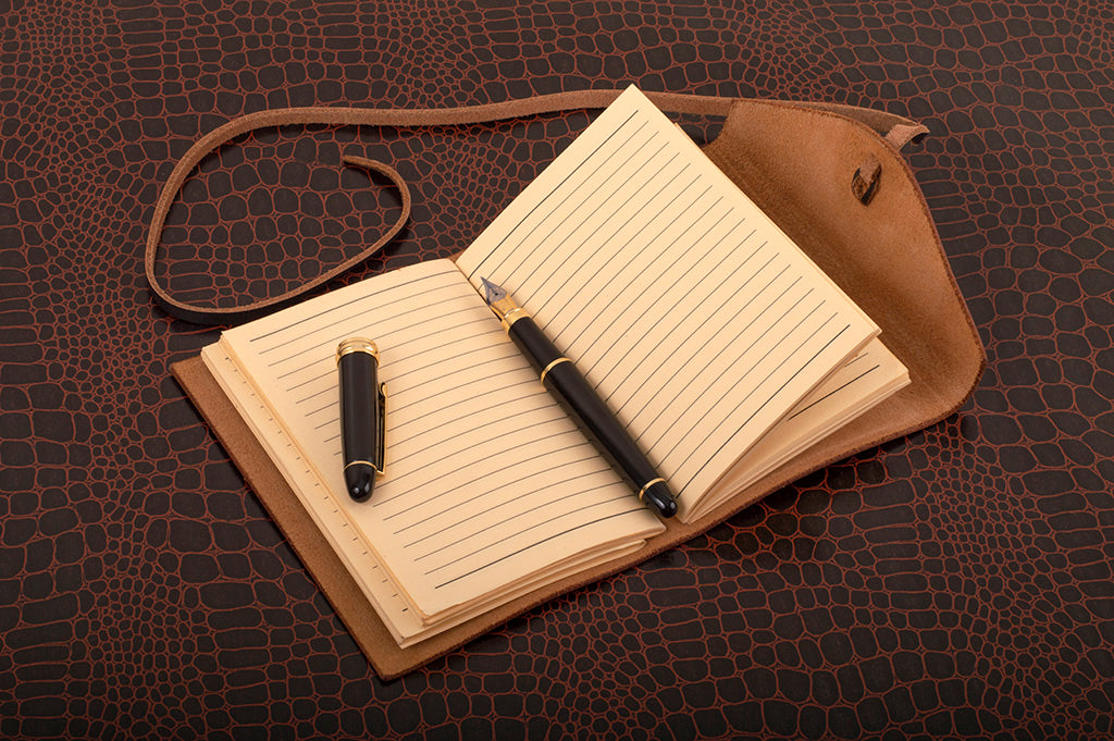 Leather diary by 21 degree