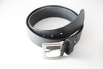 Load image into Gallery viewer, Men's Plain Formal Pure Leather Black Belt