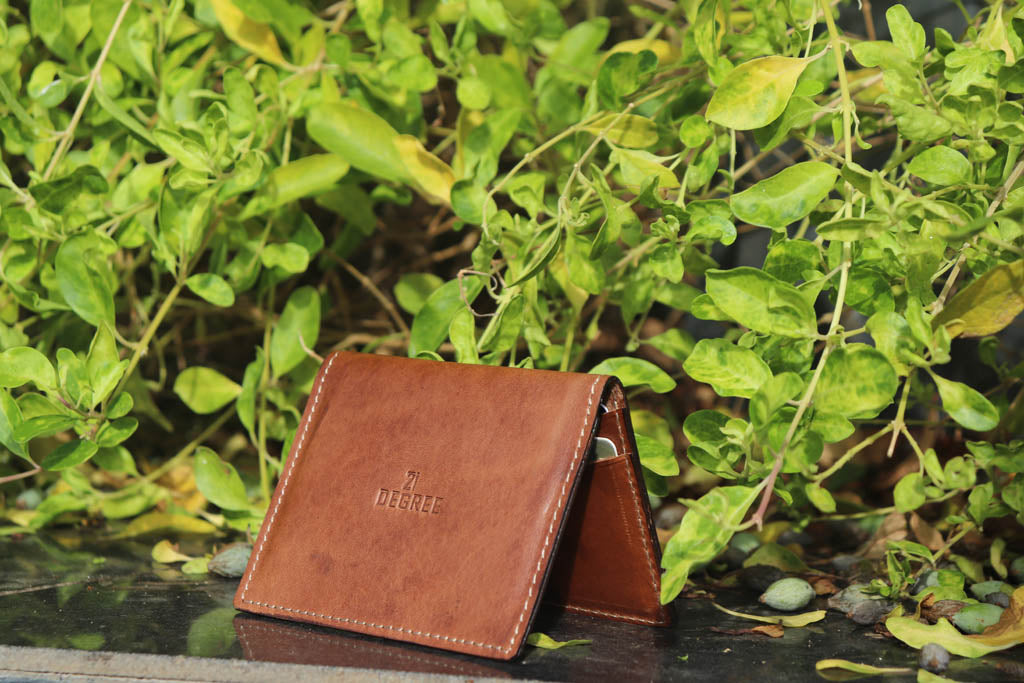 Pure leather cardholder (3 pockets)