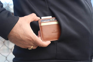 Best quality leather card holder model picture