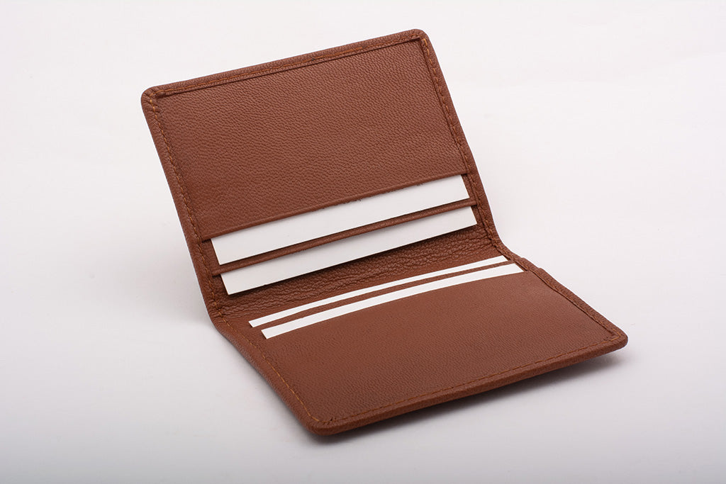 real leather card holder made in India
