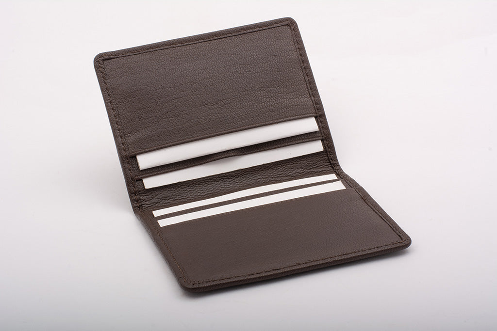 Elegant finish card holder with 4 pockets