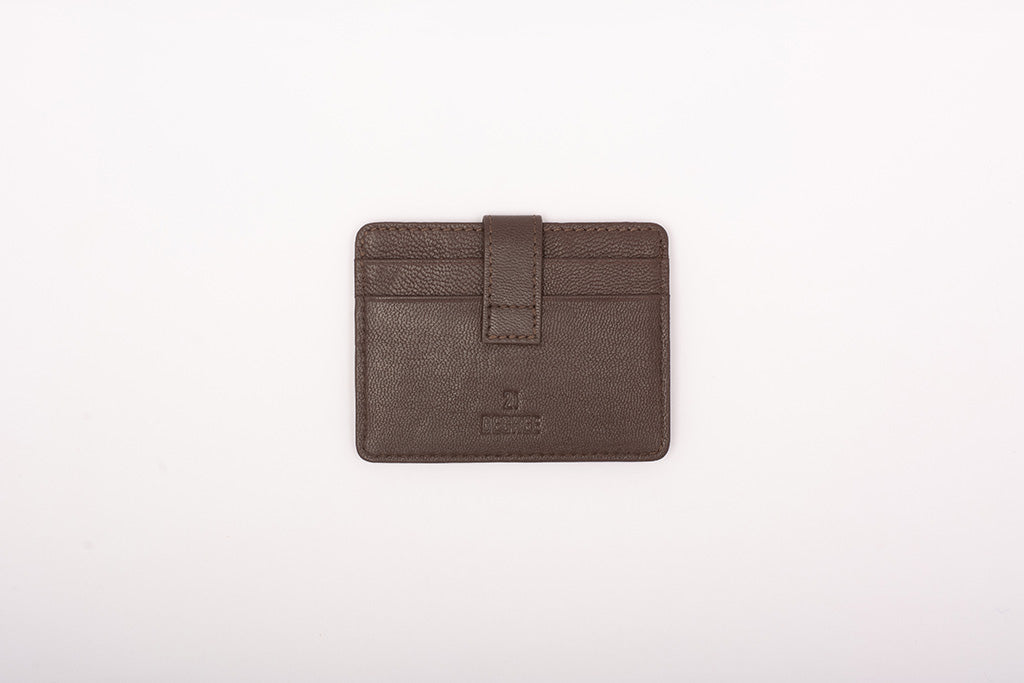 Genuine leather card holder in India
