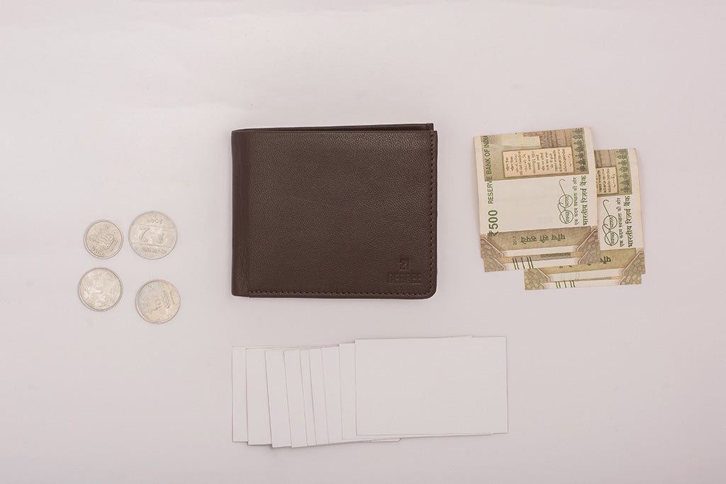 Pure leather wallet made in India