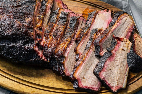 Boneless Brisket Sliced $20 Tray