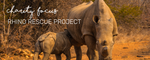 CHARITY FOCUS - RHINO RESCUE PROJECT