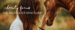 CHARITY FOCUS - BACKWATER SANCTUARY