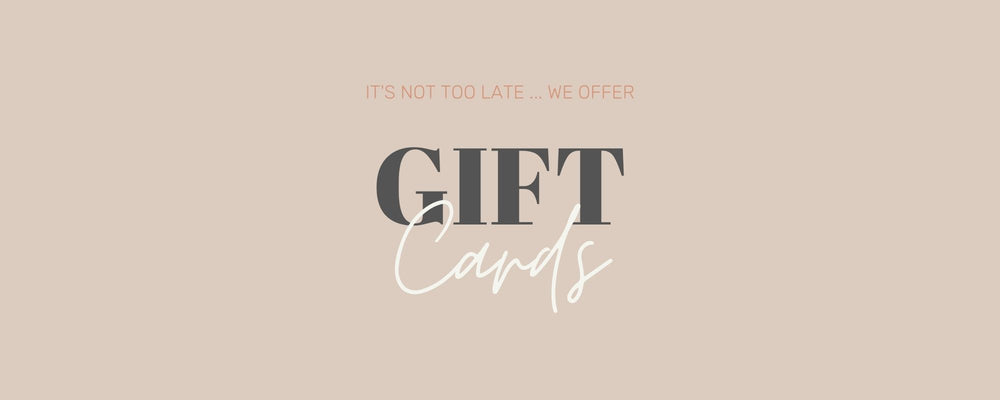 Never too late - we sell VIRTUAL GIFT CARDS! 🎉