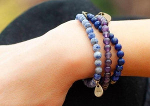 Load image into Gallery viewer, Lapis Lazuli Bracelet - Wild In Africa