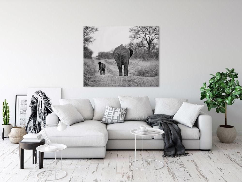 'Together' Fine Art Elephant Print - Wild In Africa