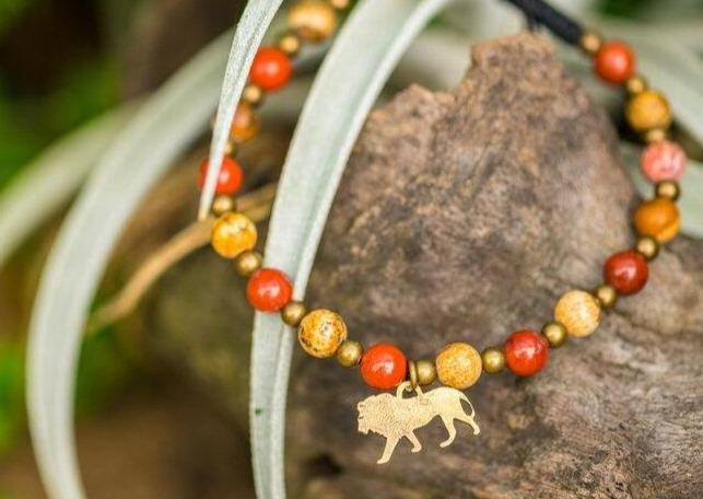 Load image into Gallery viewer, Zambian Carnivore Programme Lion Bracelet - Wild In Africa