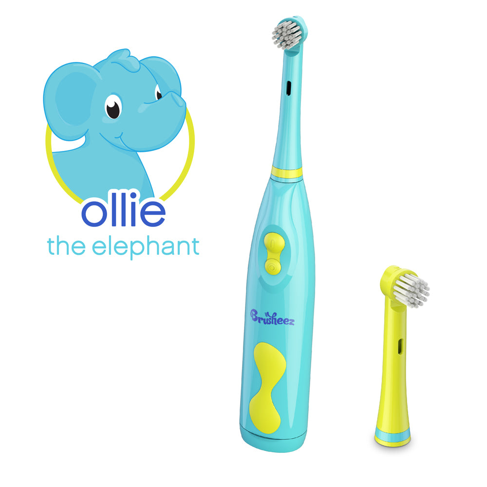 Replacement Brush Heads 2 Pack - Ollie the Elephant | Brusheez®