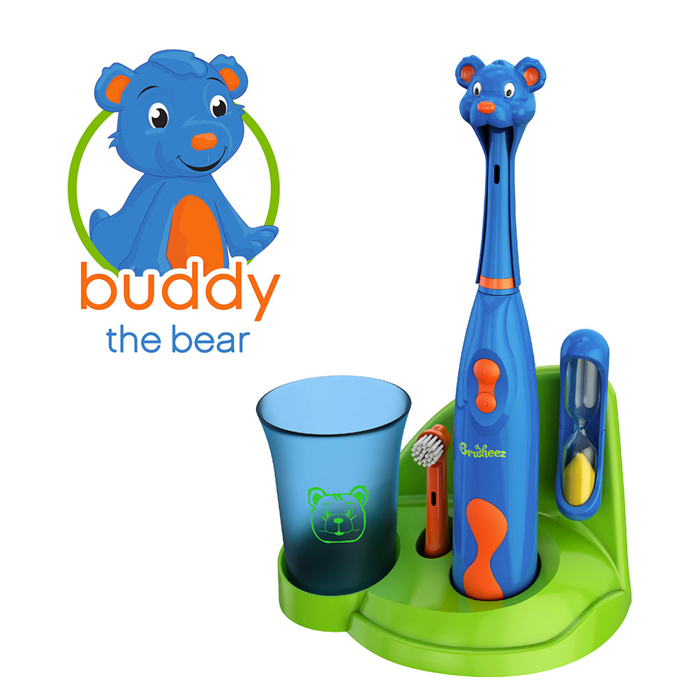 Brusheez Electric Toothbrush Set - Buddy the Bear