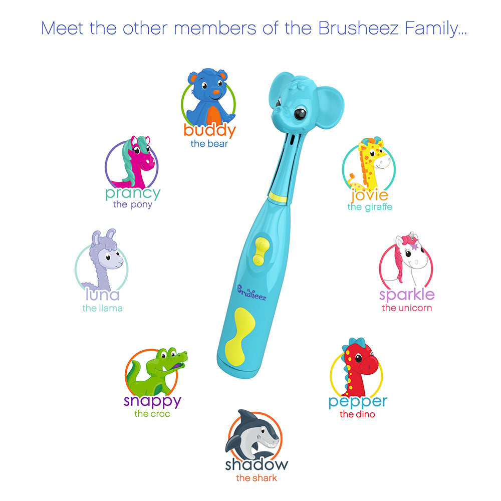 Brusheez Electric Toothbrush Set - Ollie The Elephant