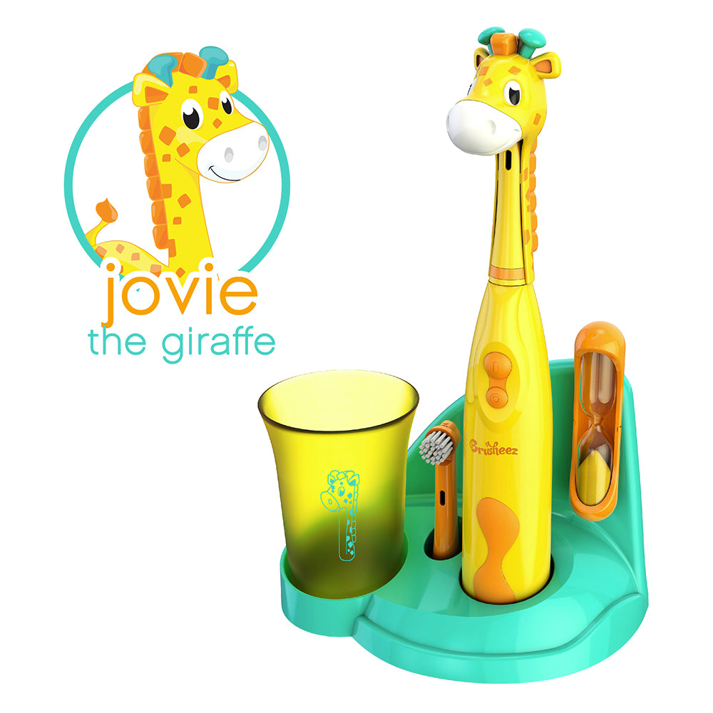 Brusheez Electric Toothbrush Set - Jovie the Giraffe