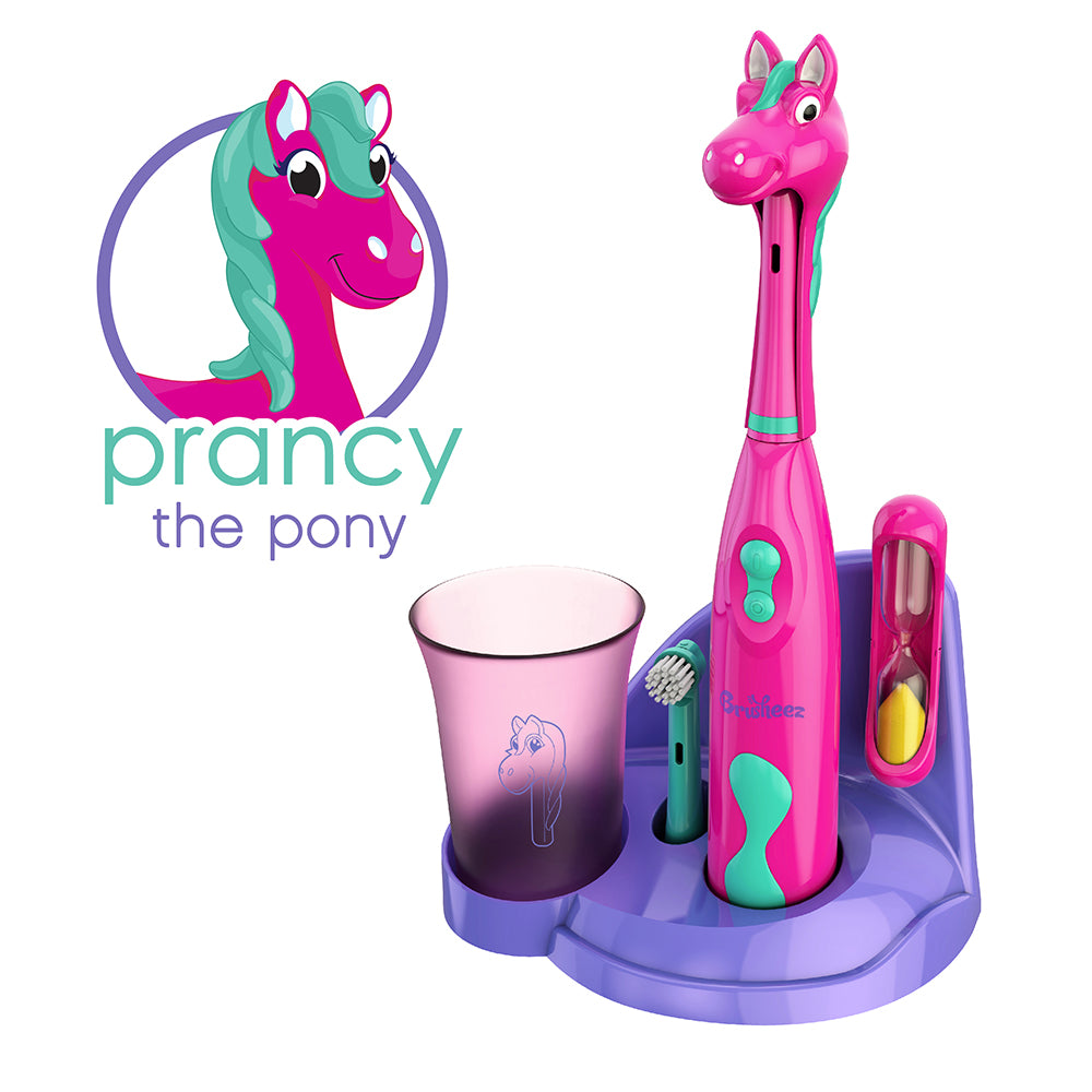 Brusheez Electric Toothbrush Set - Prancy The Pony