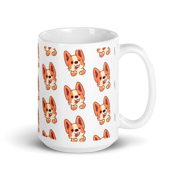 cute corgi lover mug