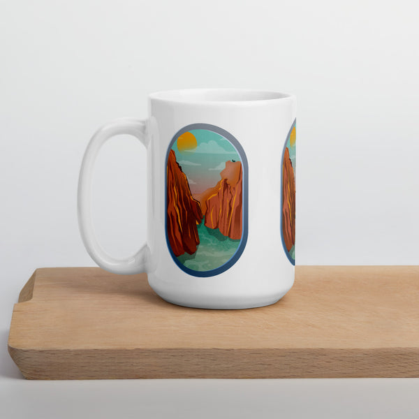 Airplane View Grand Canyon Mug