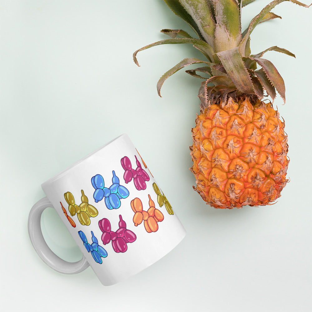 balloon animals mug