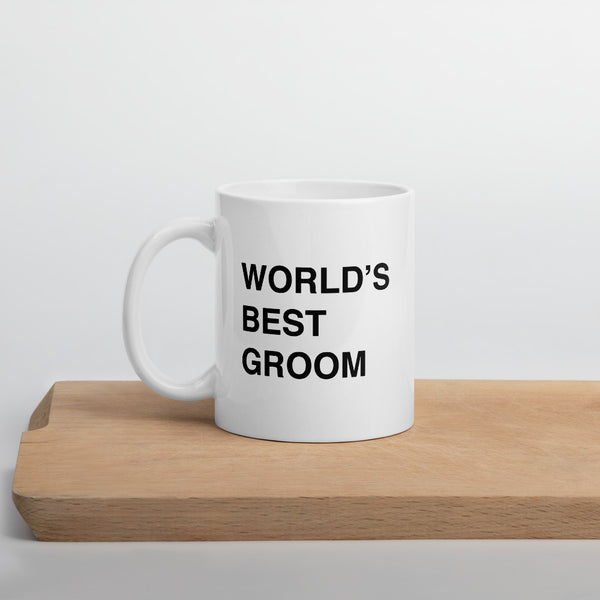 worlds best groom office mug