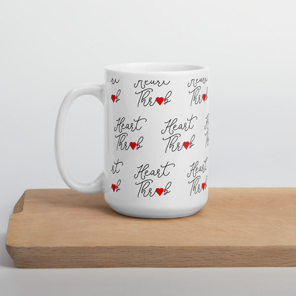 Cute Heart Pattern Mug