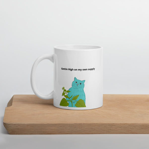 High on Your Own Supply Catnip Mug