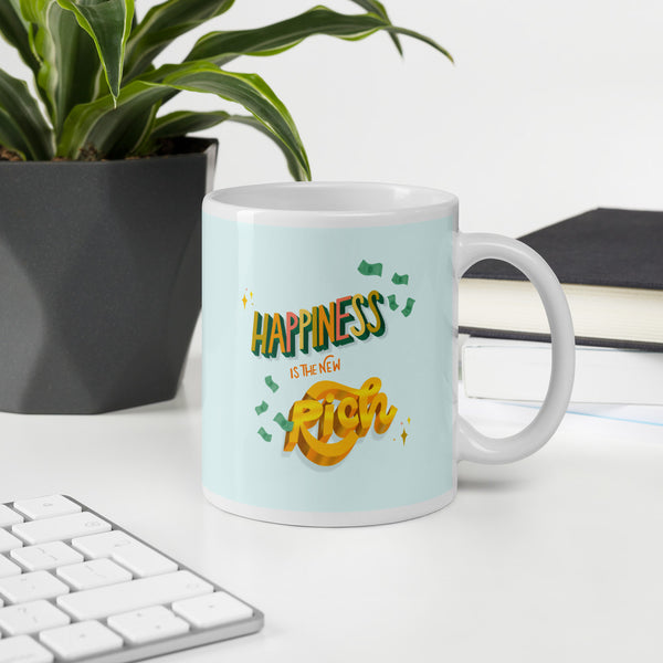 Inspirational Happiness Mug
