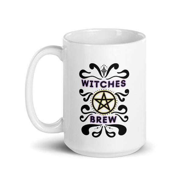 wiccan witches brew mug