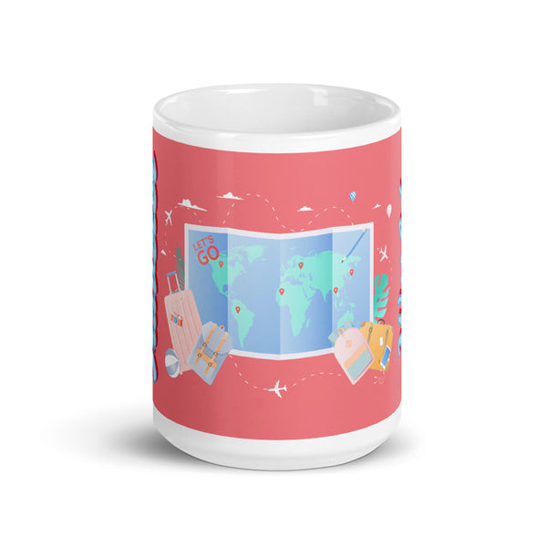 cute travel lover mug