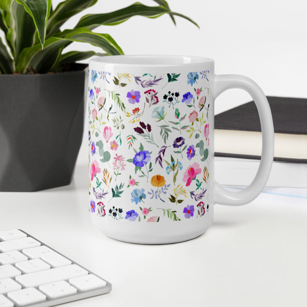 Beautiful Floral Mug